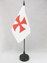 AZ FLAG Templar order Table Flag 4'' x
