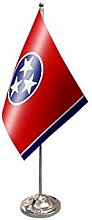 AZ FLAG Tennessee prestige Table Flag 6''