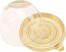 AZR Cupcake Box,Egg Yolk Puff Box,Plastic