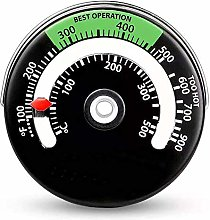 azurely Magnetic Log Burner Stove thermometer,