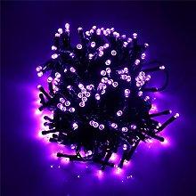 AZX (200 Leds 8 Modes) 22m Purple Solar String