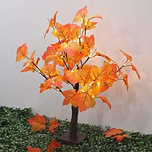 AZXAZ Maple Leaves Tree Light Led Desktop Night