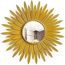 Azyq Gold Wall Mirrors for Living Room, Home Decor