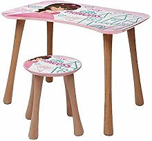 b'home Table and Stool Set Activity Desk
