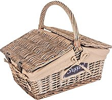 B AND B – Wicker Basket for champiãones