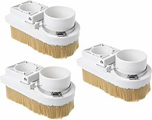 B Baosity 3pcs 80mm Spindle Shoe Cleaner for CNC