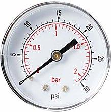 B Baosity Radial Manometer for Fuel Air Oil Or