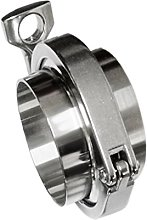 B Baosity Stainless Steel Tri-clamp Clover + 2 Pcs