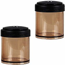 B Blesiya 2pc Plastic Stacking Stackable Tea