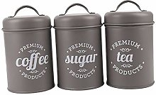 B Blesiya 3 Set of Food Storage Canister with