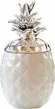 B Blesiya Lovely Pineapple Ceramic Spice Jar