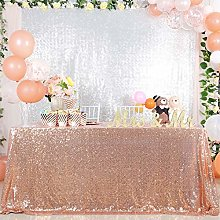 "B-COOL 50""x80"" Sequin Tablecloth and Event"