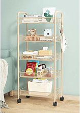 B&G Storage Carts, Ultra-Thin Slide-Out Trolleys,