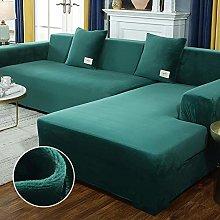 B/H Sofa for Living Room,Fabric Plush Stretch Sofa