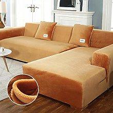 B/H Sofa Slipcover for Living Room,Fabric Plush