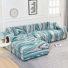 B/H Sofa Slipcover for Living Room,L-shaped Sofa