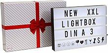 B.K.Licht LED Light Box A3 Size, incl. 120