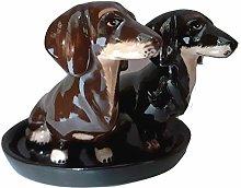 B2SEE LTD Dog Dachshund Salt and Pepper Shakers