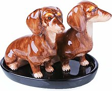 B2SEE LTD Dog Salt and Pepper Shakers Egg Cup