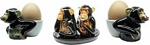 B2SEE LTD Monkey Chimpanzee Salt and Pepper