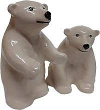 B2SEE LTD Polar Bear Salt and Pepper Shaker Egg