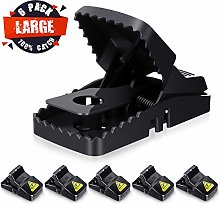Baban Mouse Trap 6 PACK, Rat Trap with 100% Catch