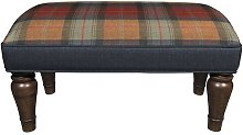 Babar Ottoman Union Rustic Upholstery: Orchard