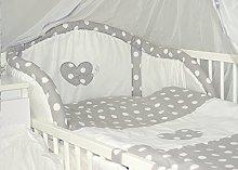 Baby's Comfort HEARTS 7 PCS BABY BEDDING SET