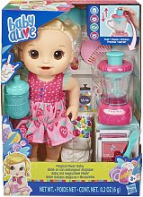 Baby Alive Magical Mixer Baby Doll - Strawberry