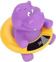 Baby Bath Thermometer Cute Hippo Bathtub Digital