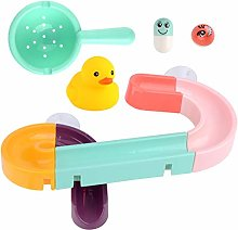 Baby Bath Toys Suction Cup Race Orbits Track Kids