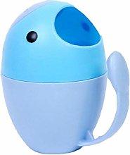 Baby Bathing Cup Egg Shaped Baby Bailer Cartoon