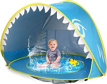 Baby Beach Tent Pop Up Shark Baby Pool Tent with