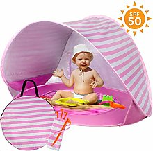 Baby Beach Tent with Built-in Pool - Ultralight