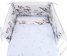 Baby Bedding, Baby cot 5 Kits, duvets, Pillows,