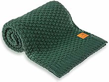 Baby Blanket Dark Green