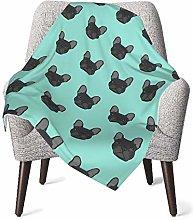 Baby Blanket Flannel Fleece Soft & Warm French