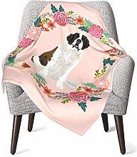 Baby Blanket Flannel Fleece Soft & Warm Saint