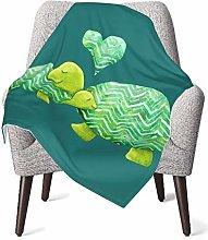Baby Blanket Flannel Fleece Soft & Warm Sweet