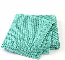 Baby Blanket Knitting Newborn Wrapping Wrap