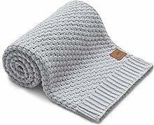 Baby Blanket Light Grey