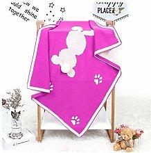 Baby Blanket Pompom Newborn Stroller Wrap Super