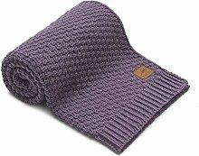 Baby Blanket Purple