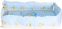 Baby Boys Girls Crib Bedding Set with Bumper, Pack