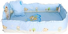 Baby Boys Girls Crib Bedding Set with Bumper, Pack