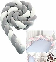 Baby Braided Crib Bumper,Variety Of Colors Used