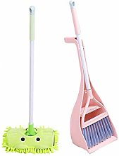 Baby Cleaning Kit, Toy Broom/Dustpan & Dustpan -