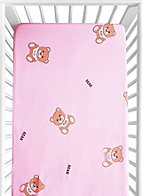Baby Cot Bed Fitted Sheets, Ynaice 100% Organic