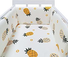 Baby Cot Bumper, One Piece Baby Crib Fence Cotton,
