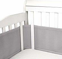 Baby Crib Bumper Classic Mesh Breathable Crib